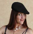erika may in beret